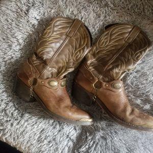 Laredo size 8 in men authentic cowboy boots